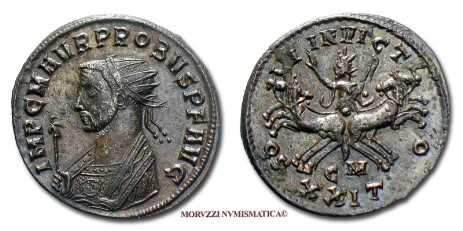 Roman coins: antoninianus of Probus offered by Arsantiqva