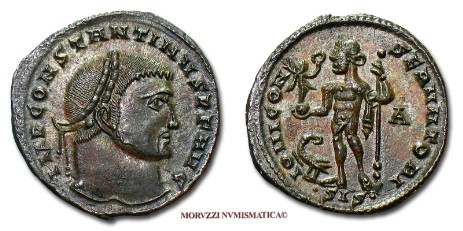Roman coins: follis of Constantine I The Great offered by Arsantiqva