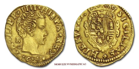 Italian coin: scudo of Philip IV of Spain offered by Arsantiqva