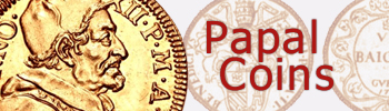Papal coins for sale